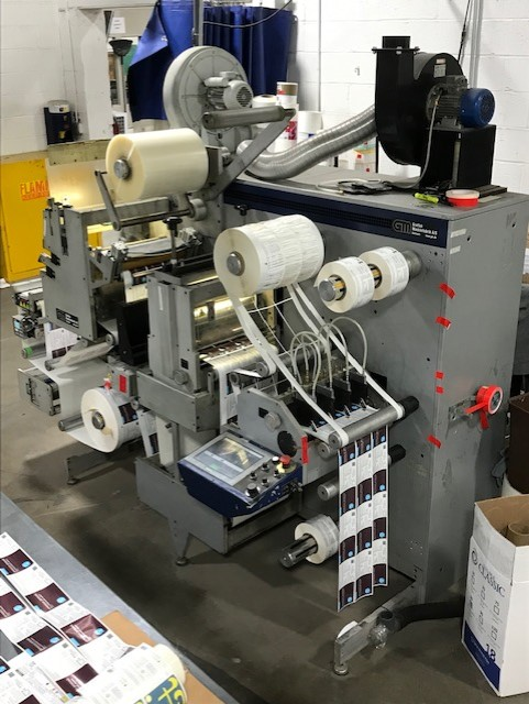 GM DC330 Mini - Used Flexo Printing Presses and Used Flexographic Equipment-2